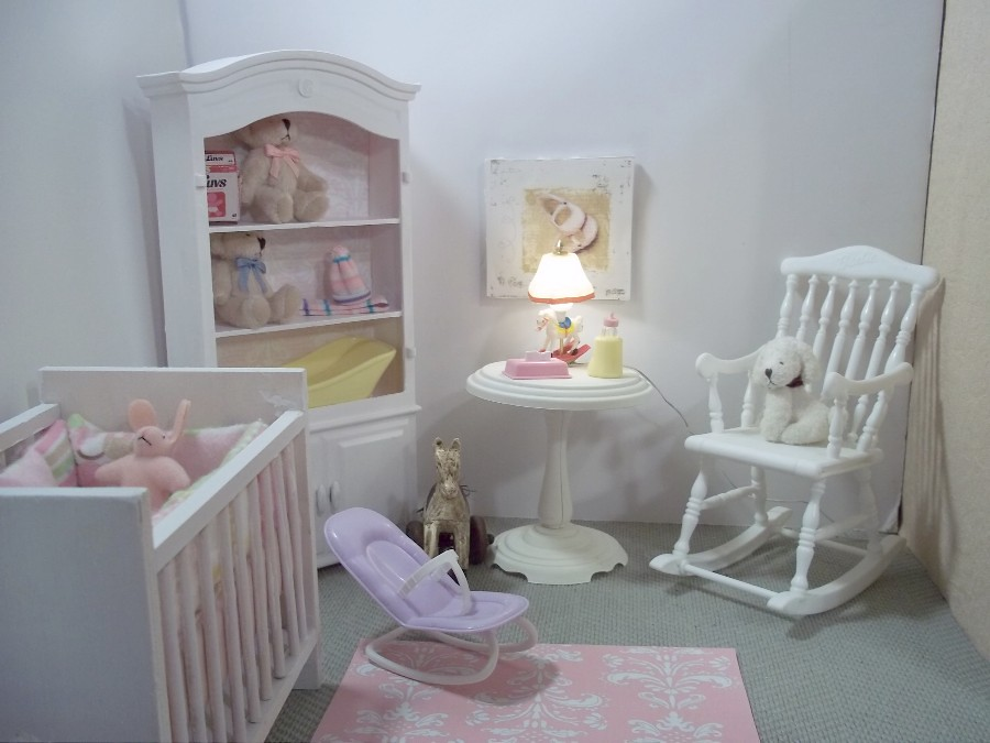 1 6 Scale Nursery By Vanessa Morrison I Created This Barbi Flickr