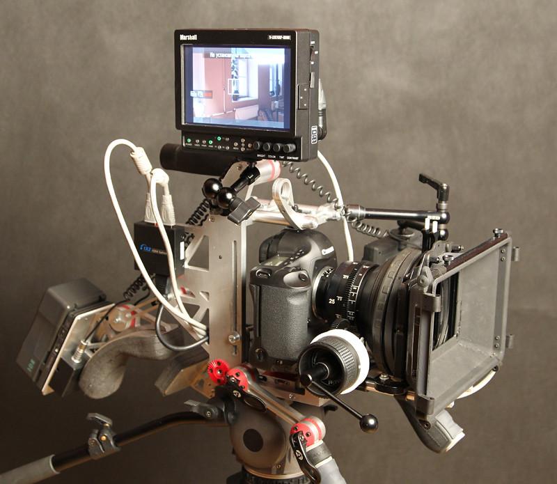 Diy Dslr Camera Rig: Russian DIY DSLR RIG For Canon Mark 2 5D Or