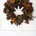 fall wreath+thanksgiving wreath