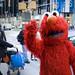 'Evil Elmo Invades Times Square!' (New York,USA)