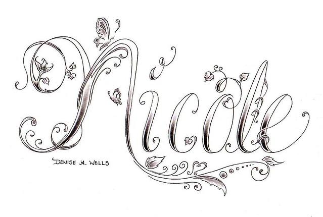 Make My Own Name Tattoo Designs