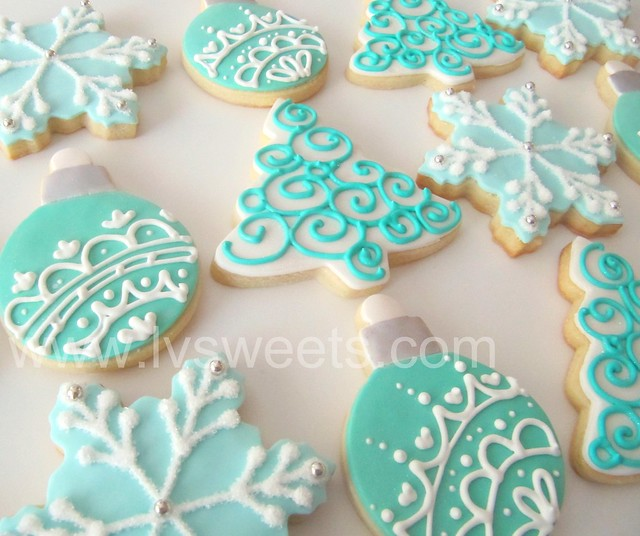 Decorating Ideas For Christmas Tree Cookies : Holiday cookies flickr photo sharing