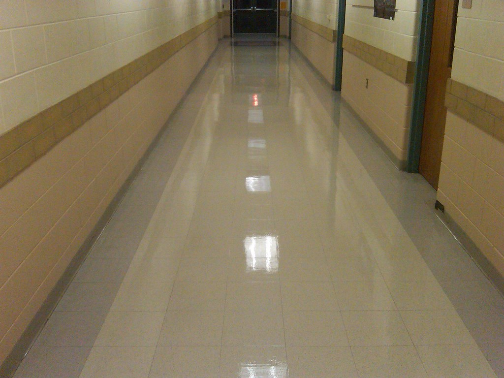 AFTER - School Floor | This is the After photo of the ...