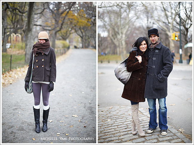 New York City Winter Street Fashion | (Left) A pretty young u2026 | Flickr