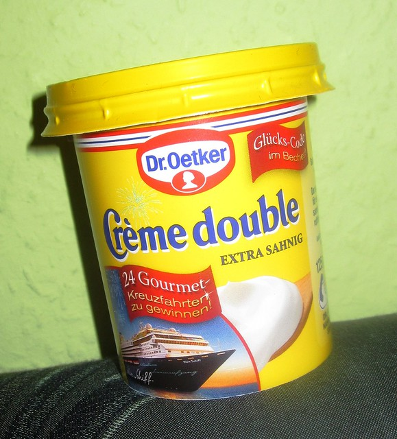 dr oetker creme double flickr photo sharing. Black Bedroom Furniture Sets. Home Design Ideas