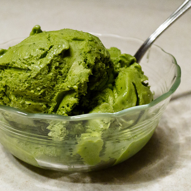 Green Tea Ice Cream | Flickr - Photo Sharing!