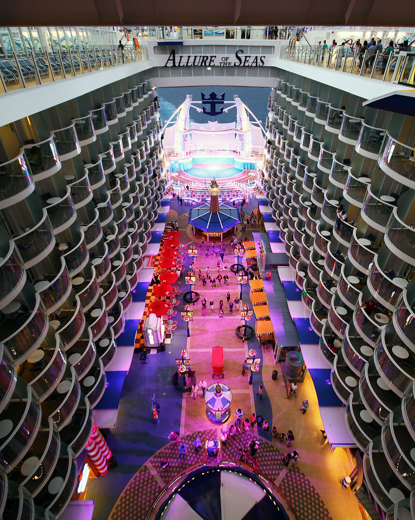 Allure of the seas boardwalk overview deck 15 press l flickr - The allure of the modular home ...
