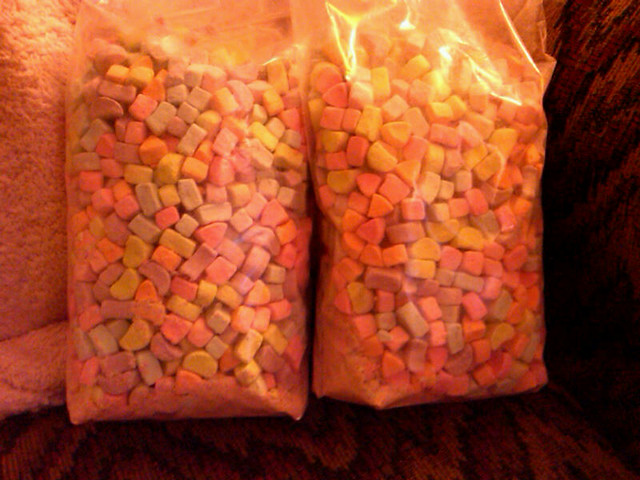 two bags of lucky charms marshmallows flickr photo