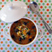 Cabbage, Sweet Potato and Black Bean Soup