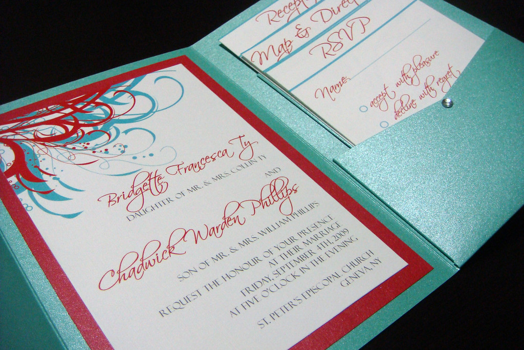 invitation for wedding aqua blue and wedding invitations 5165
