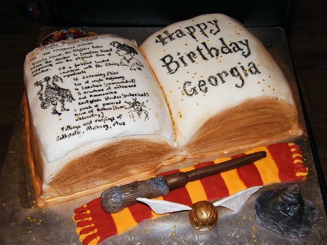 Birthday Cakes Harry Potter Children
