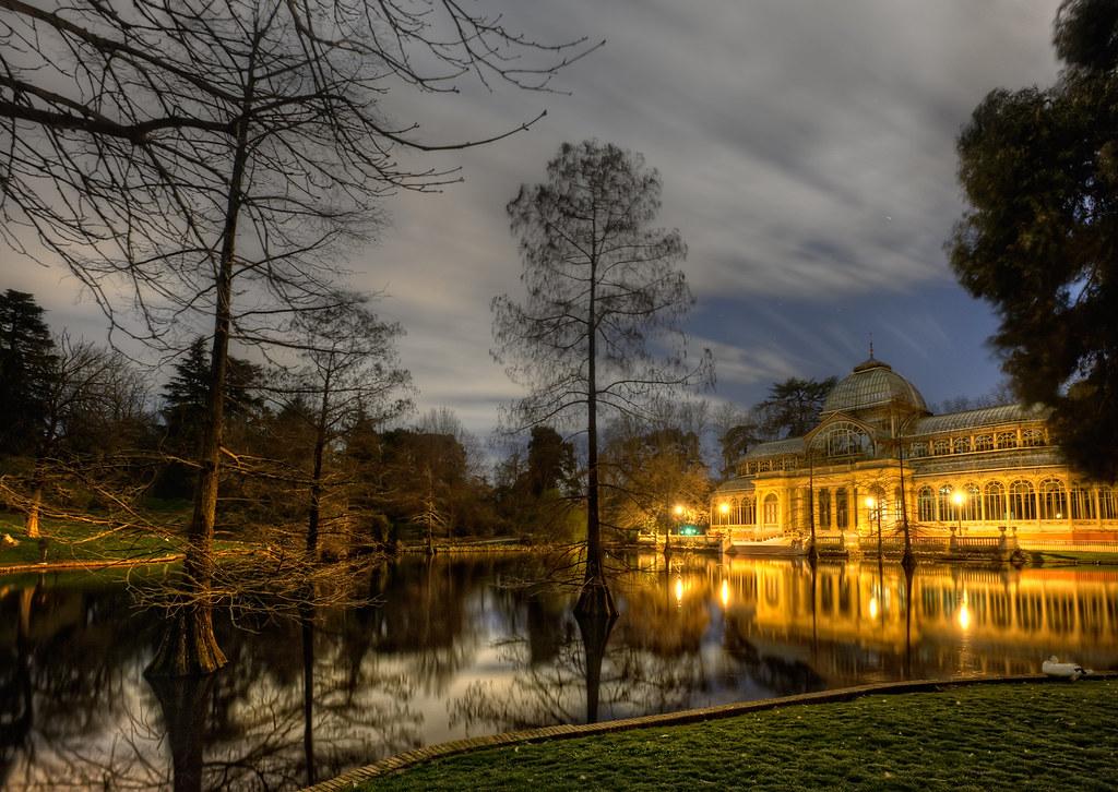 Crystal palace palacio de cristal parque del retiro ma for Suelo 3d madrid