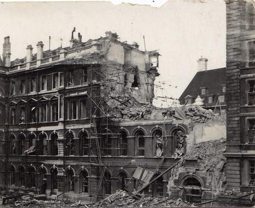 Ww2 Bomb Damage St Thomas S Hospital London Flickr