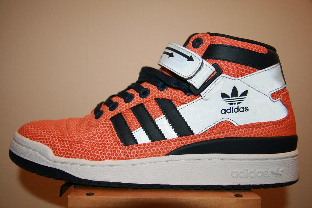 buy popular 8df61 f95c2 adidas forum mid gold orange