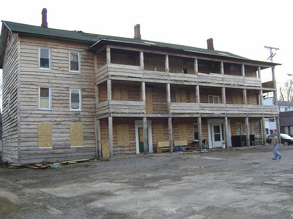 abandoned 1812 hotel in the village of sodus ny this. Black Bedroom Furniture Sets. Home Design Ideas