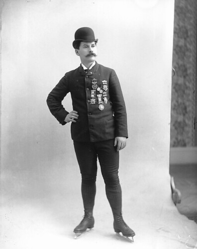 Louis Rubenstein, championship figure skater, Montreal, QC, 1893 | by Musée McCord Museum