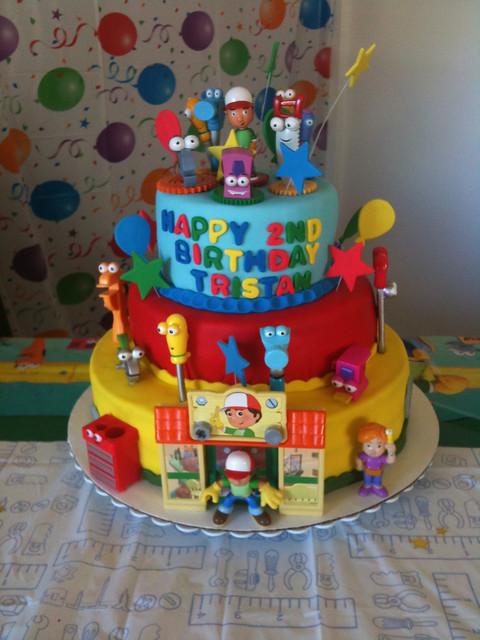 Cake Images Name Of Mani : Handy Manny Cake Flickr - Photo Sharing!