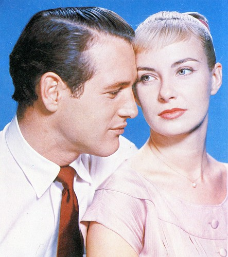 Paul Newman and Joanne Woodward | by classic film scans
