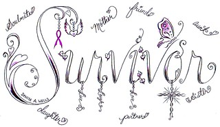 Survivor Tattoo Design by Denise A. Wells | by ♥Denise A. Wells♥