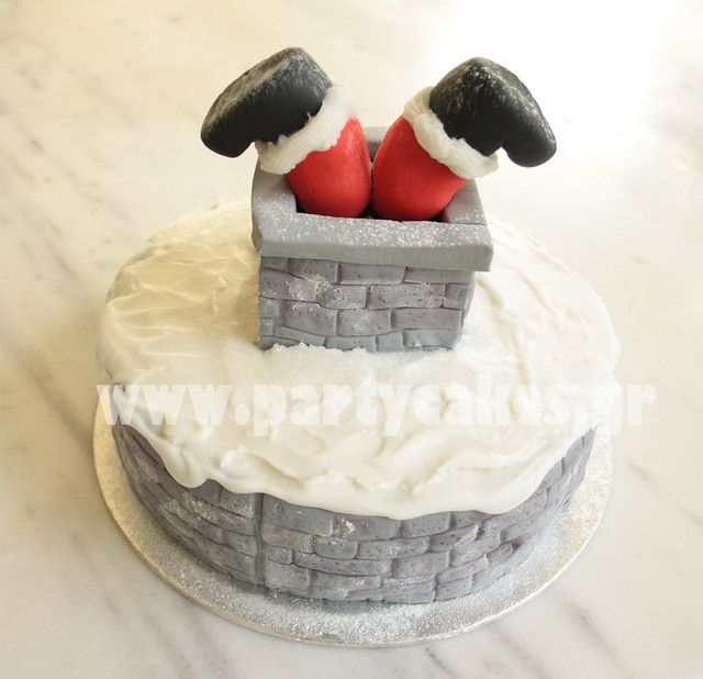 Santa stuck in the chimney flickr photo sharing Santa stuck in chimney cake
