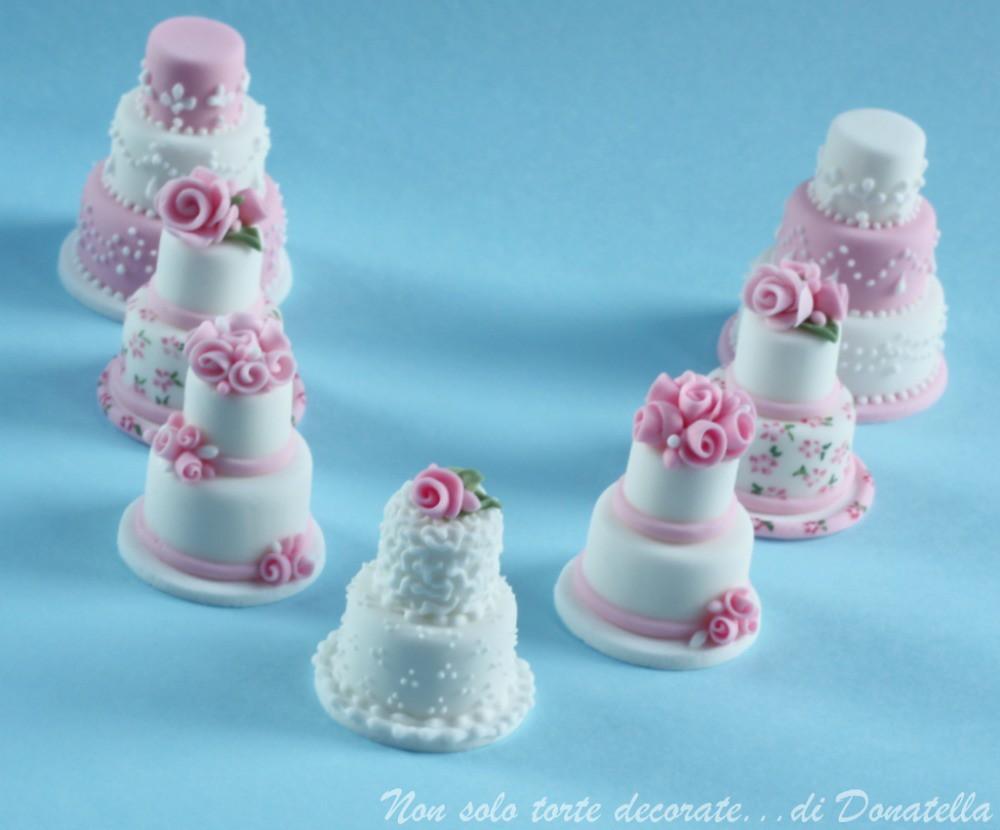 Miniature Wedding Cakes Donatella Flickr