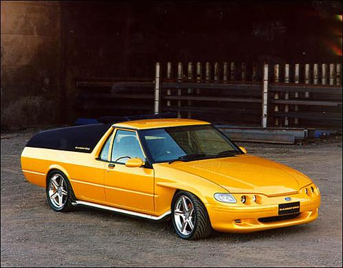 1998 Ford Xh Falcon Sandfire Ute Concept Press Photo Flickr Photo Sharing