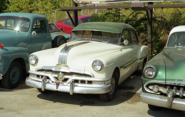 1952 pontiac chieftain 4 door flickr photo sharing