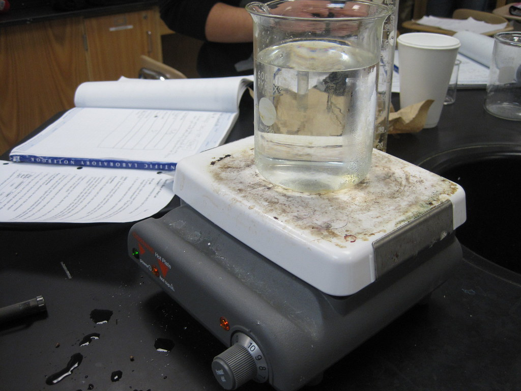lab for specific heat Ib physics: determination of an unknown's specific heat capacity  record the  temperature of the hot water bath holding the metal samples at your lab station.