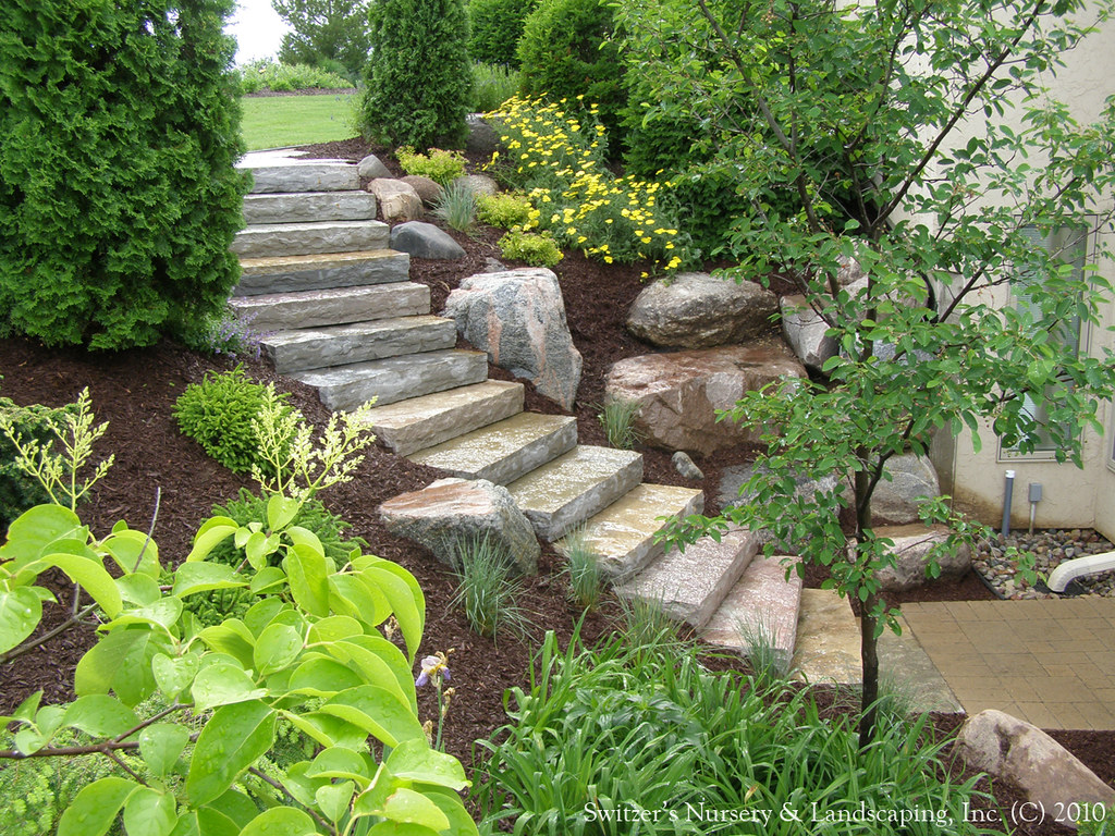 Natural Stone Steps : Chilton natural stone steps borgert products strassen ba
