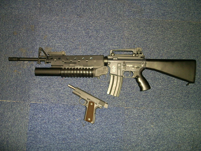 M16a3 w/M203 | Flickr - Photo Sharing! M16a3 M203