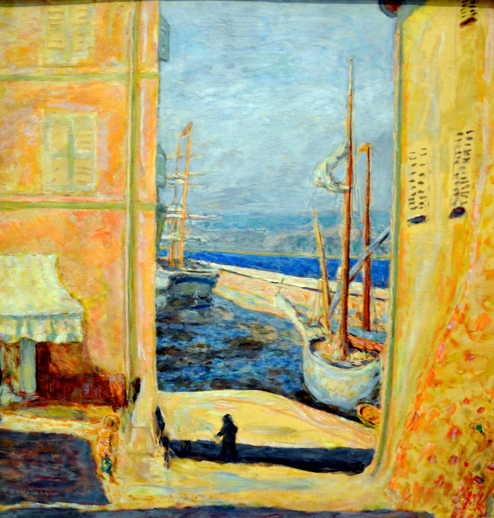 Pierre bonnard view of the old port saint tropez 1911 for Henri matisse fenetre ouverte