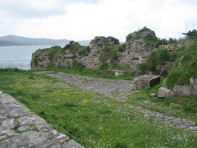 Castillo de Soberano en Camariñas