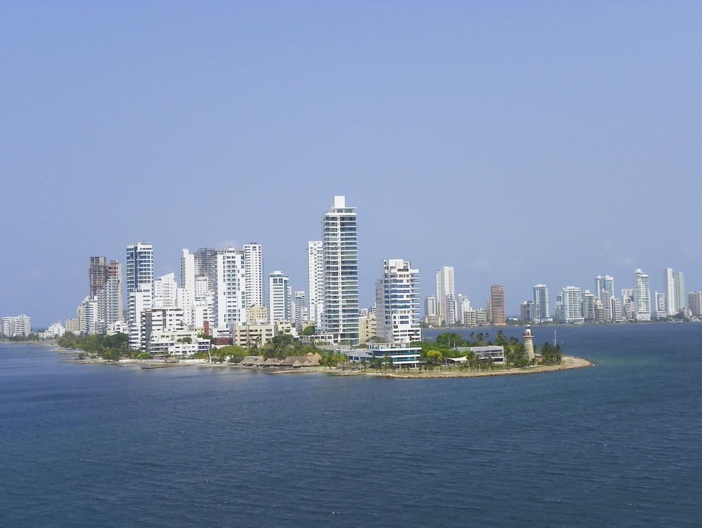 Cartagena Skyline Cartagena Colombia South America J