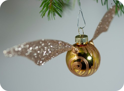 Golden Snitch Ornament | by TinyApartmentCrafts
