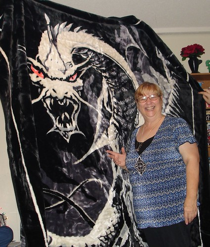 Dragon Blankets Mom's Dragon Blanket | by