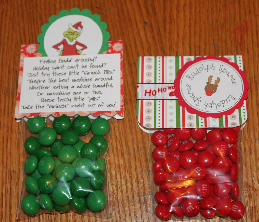 Christmas Art And Craft Ideas For Candy Bags