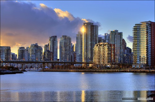 Vancouver Skyline | by Clayton Perry Photoworks