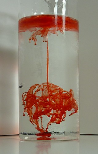 Diffusion: Food Coloring in Water | Flickr - Photo Sharing!