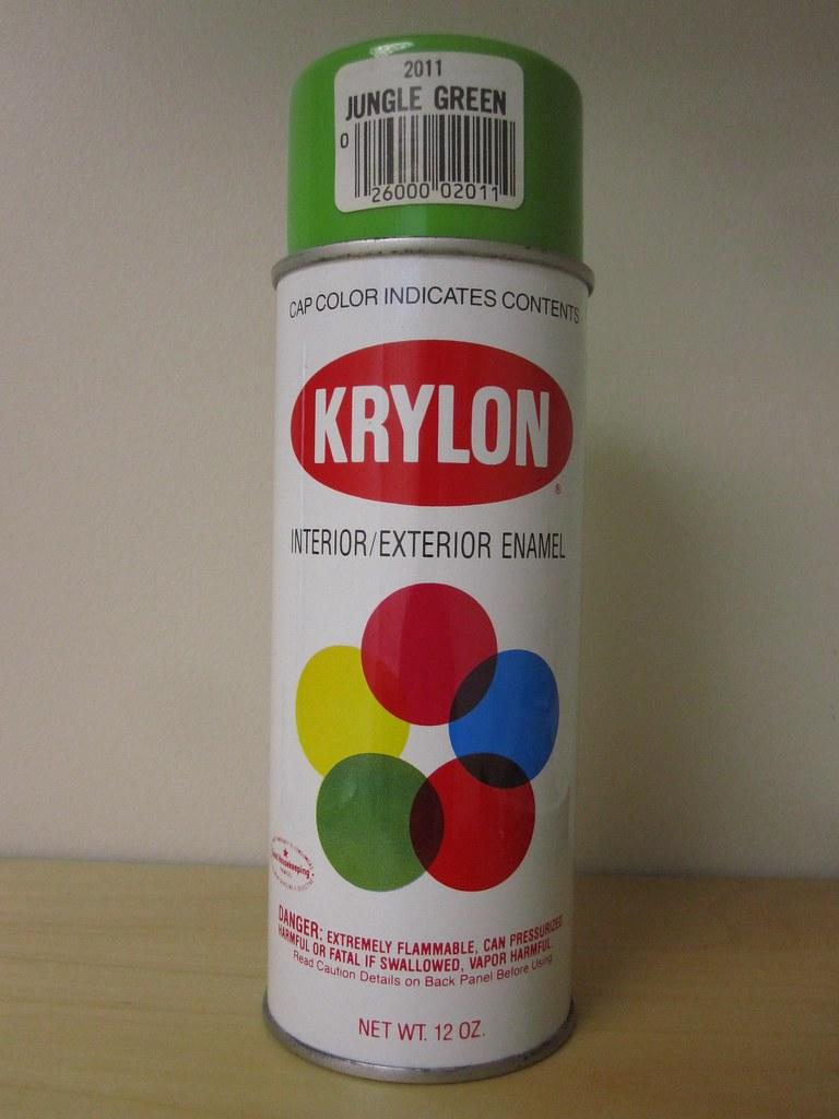 Vintage Krylon 2011 Jungle Green Spray Paint Vintage Kry Flickr