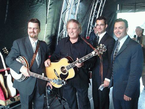 38 Rob, Alan, Ron with Don McLean | by delmccouryband