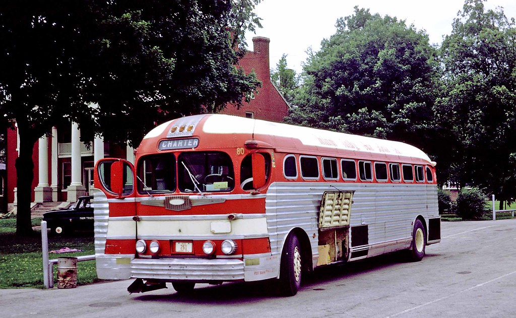 Miami Valley Bus Lines Dayton Oh 80 Gmc Pd 3751 In Vald