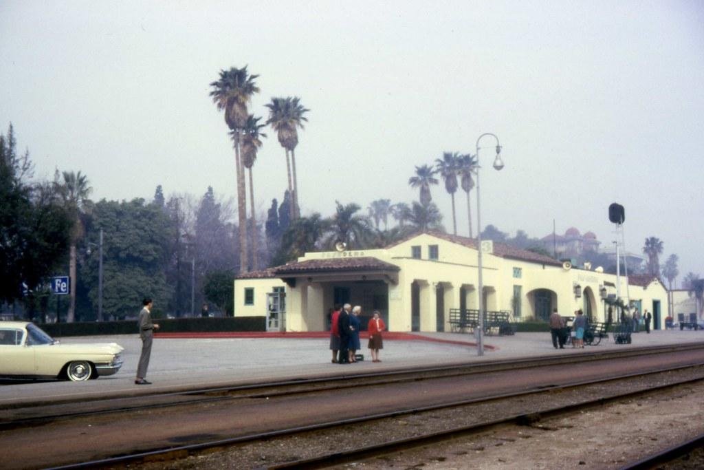 Pasadena Santa Fe Station   Pasadena's Santa Fe station in ...