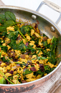 curried scrambled tofu | by jules:stonesoup