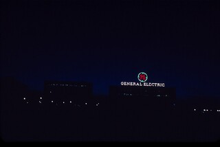 General Electric, Schenectady, N.Y., Christmas Eve 2010, Kodachrome 40 | by chuckthewriter