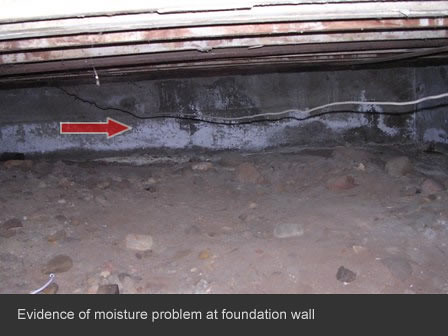 San Diego Property Inspection Foundation Water Damage