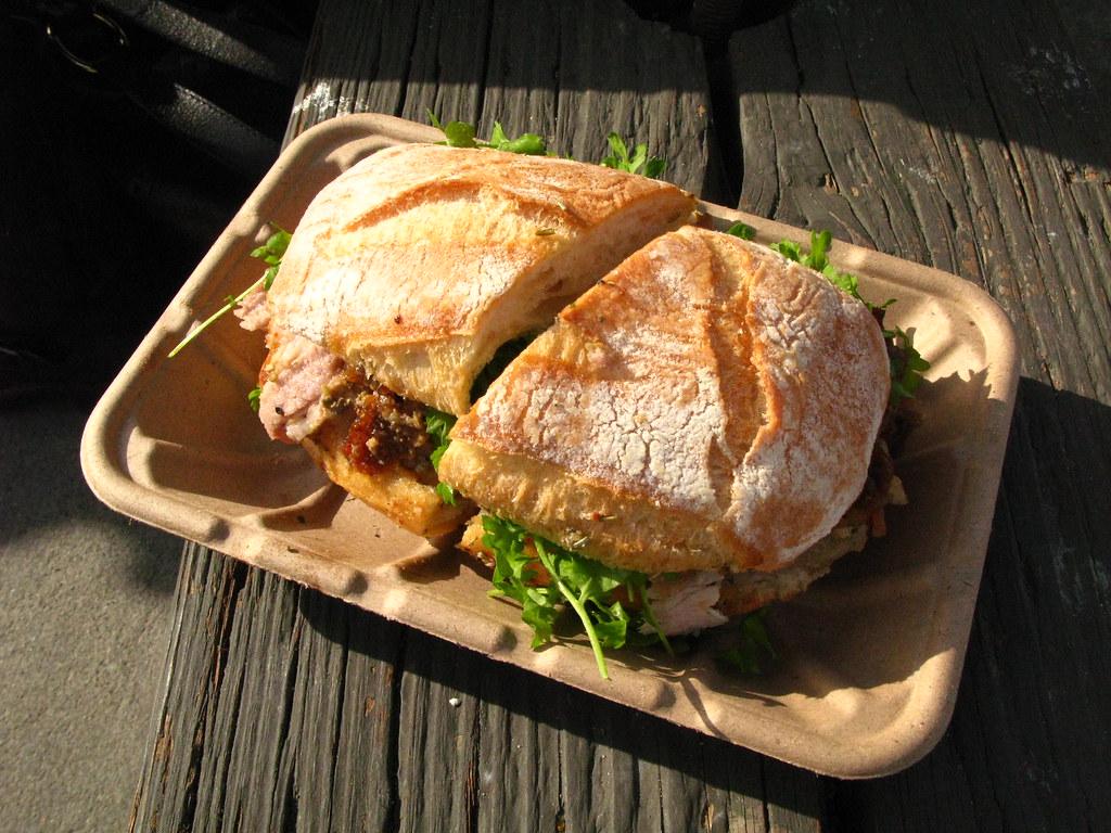 Roli Roti Gourmet Rotisserie - Porchetta sandwich | my last ...
