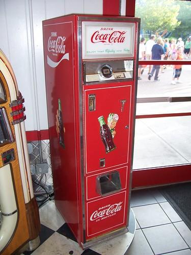 antique coke machine value