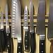 Kitchen Knives on Magnetic Bar