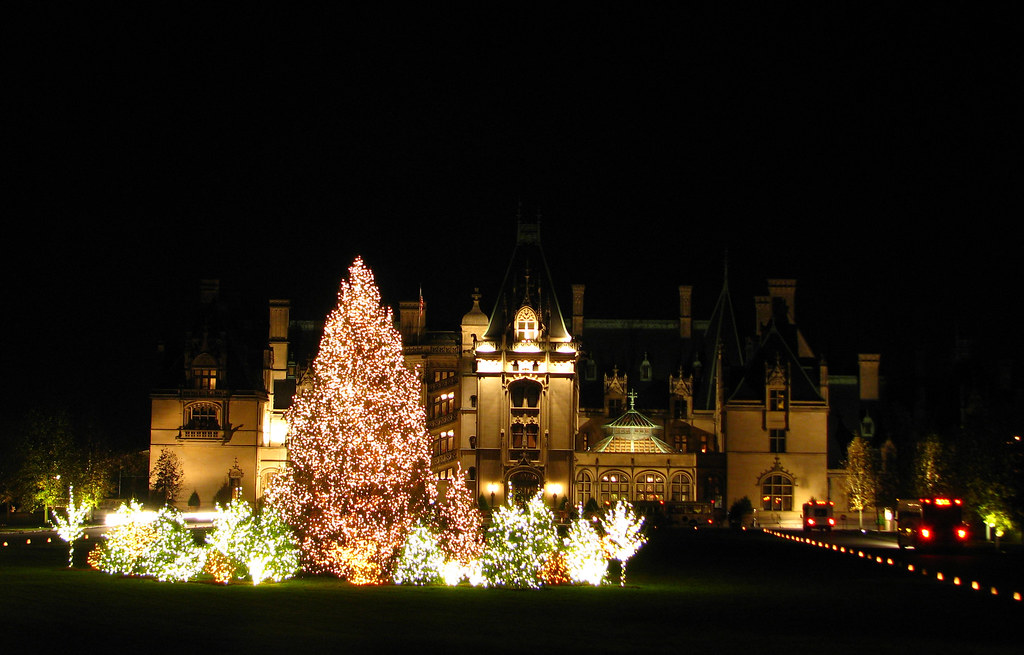 Christmas At Biltmore House Christmas Decorations Inside B