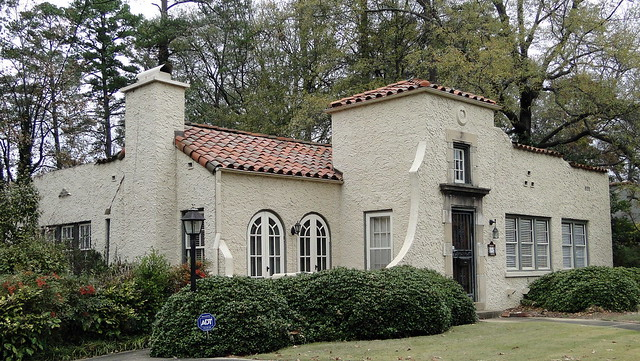 Spanish mission style home homewood alabama flickr for Spanish mission house plans